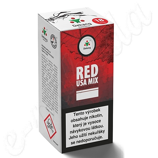 liquid DEKANG Classic Red USA Mix 10ml-18mg