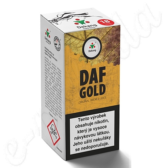 liquid DEKANG Classic DAF Gold 10ml-11mg