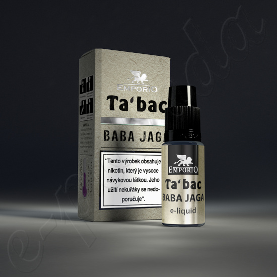 liquid Emporio BABA JAGA 10ml-6mg