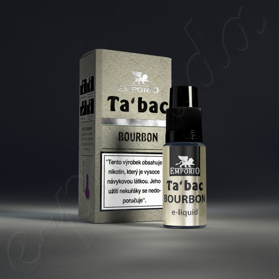 liquid Emporio BOURBON 10ml-6mg