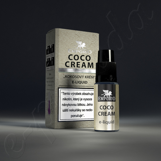 výprodej liquid Emporio COCO CREAM 10ml-3mg