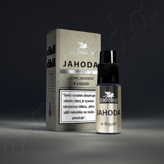 liquid Emporio JAHODA 10ml-6mg