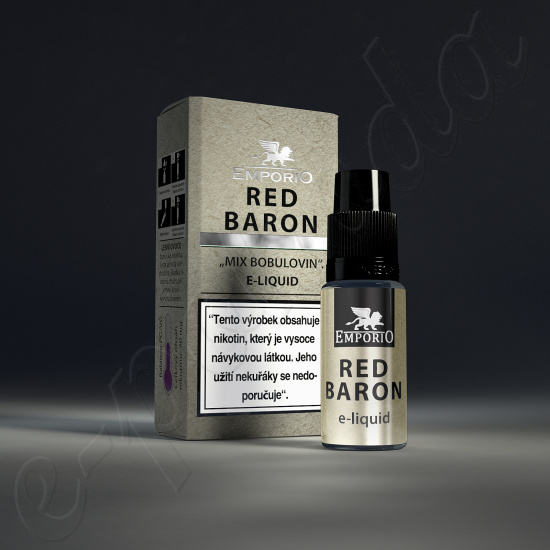 výprodej liquid Emporio RED BARON 10ml-3mg