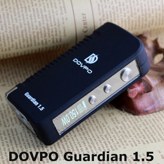 DOVPO Guardian 1.5 TC 150W Power Box Mod - černý