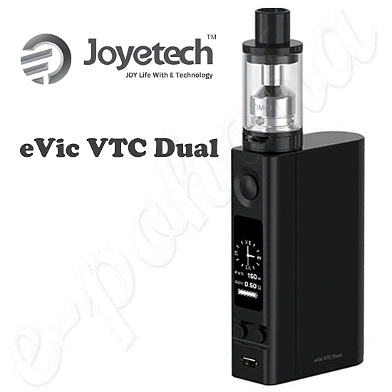Joyetech eVic VTC Dual ULTIMO Grip Full Kit - Black