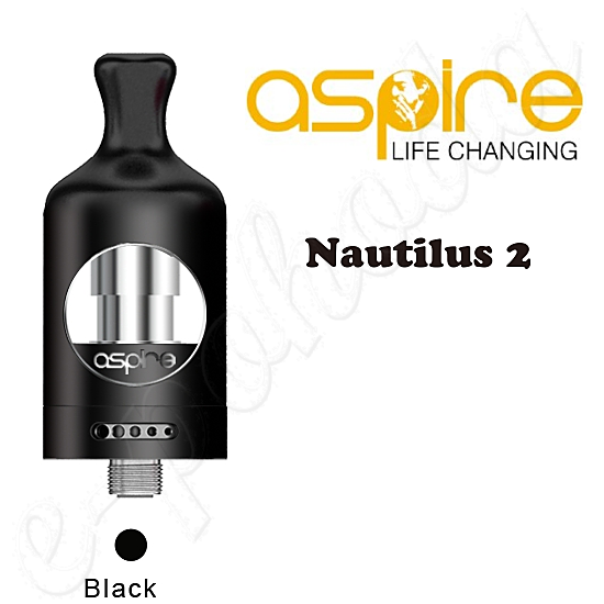 Aspire Nautilus 2 Tank Atomizer 2ml - black