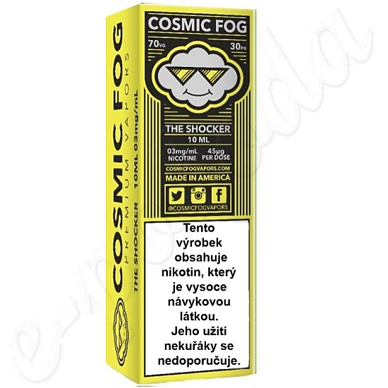 liquid COSMIC FOG - Shocker 10ml-3mg