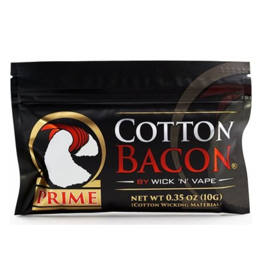 Wick´n´Vape Cotton Bacon PRIME - Bio vata