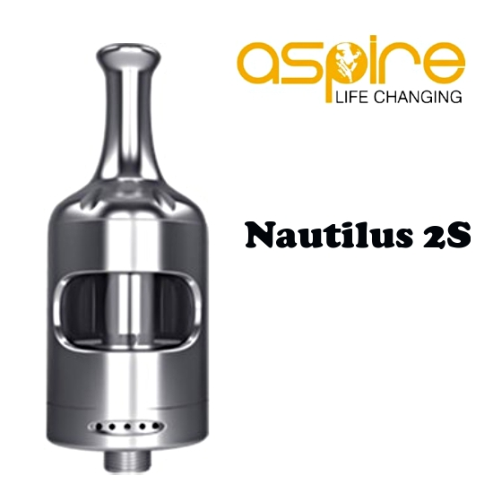aSpire Nautilus 2S Clearomizer 2,6ml - Silver