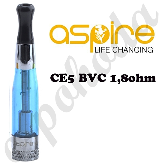 Clearomizer Aspire CE5 BVC 1,6ml - modrý