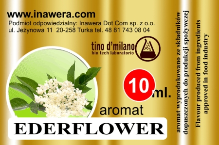 ELDERFLOWER by Inawera 10ml