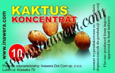 Kaktus - koncentrát 10ml