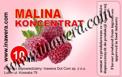 Malina - koncentrát 10ml