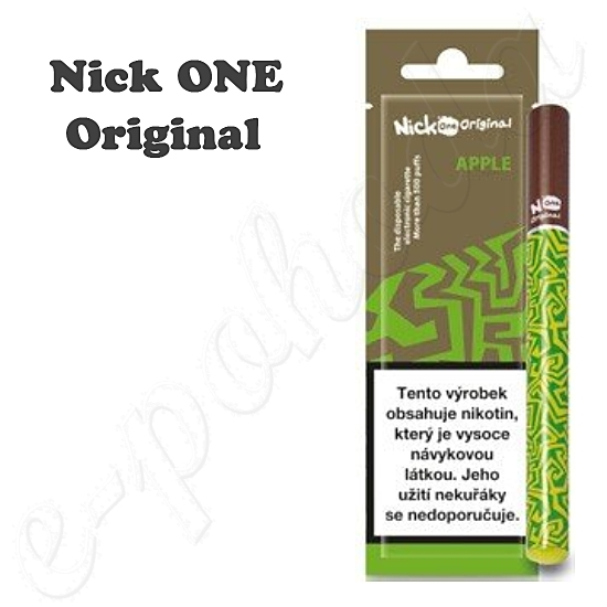Jednorázová e-cigareta Nick ONE Original Apple 16mg