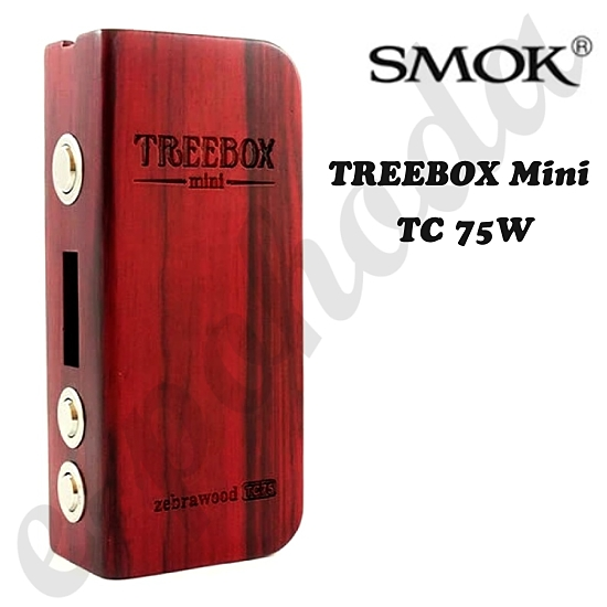 Smok Treebox Mini 75W TC Power Box Mod - dřevo