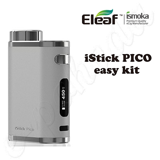 Eleaf iStick Pico TC 75W Easy Kit - Silver