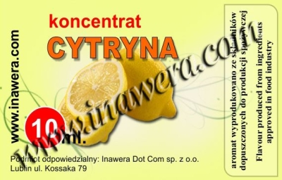 Citron - koncentrát 10ml