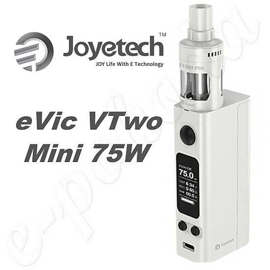 Joyetech eVic VTwo Mini 75W Full Kit - White