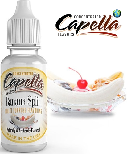 Capella Flavors - Banana Split 13ml