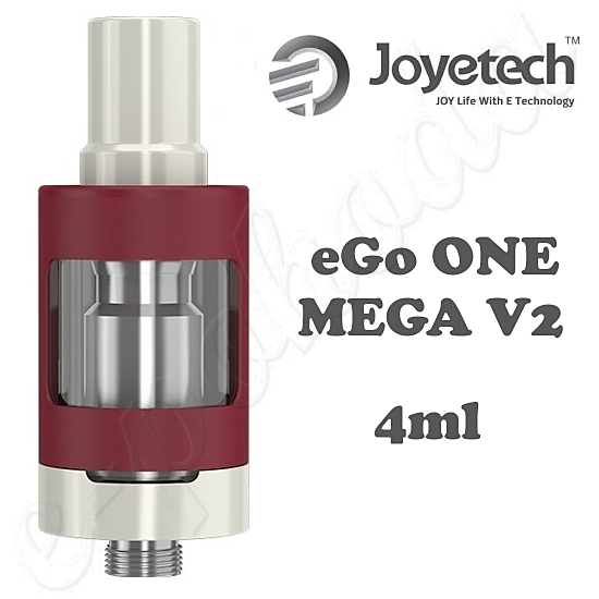 Clearomizer Joyetech eGo ONE MEGA V2 4ml - red