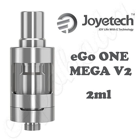 Clearomizer Joyetech eGo ONE MEGA V2 2ml - silver