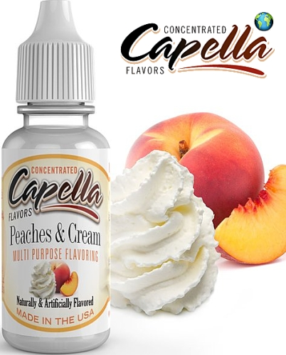 Capella Flavors - Peaches And Cream v2 13ml