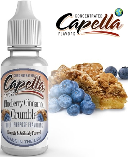 Capella Flavors - Blueberry Cinnamon Crumble 13ml