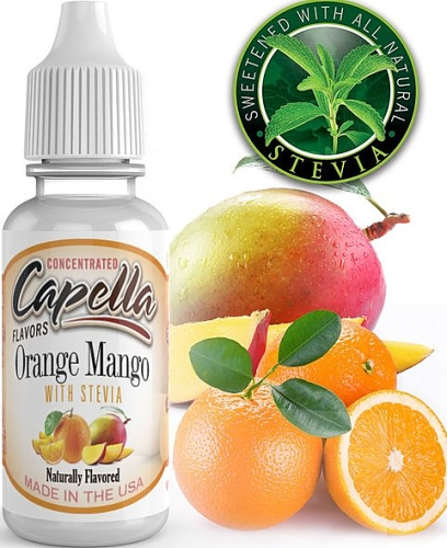Capella Flavors - Orange Mango with Stevia 13ml