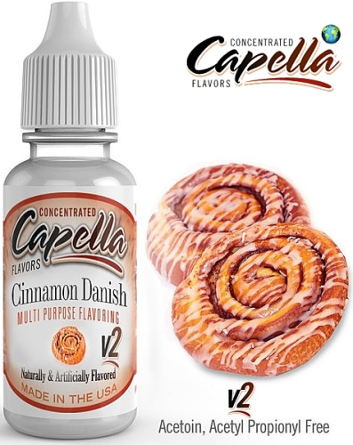 Capella Flavors - Cinnamon Danish Swirl v2 13ml