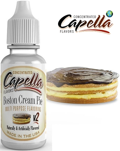Capella Flavors - Boston Cream Pie 13ml