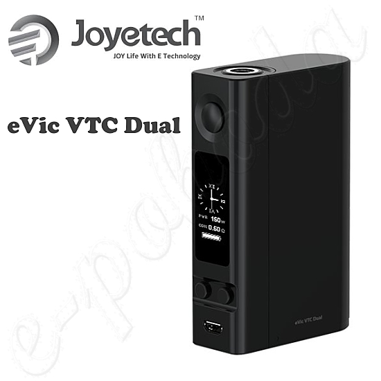 Joyetech eVic VTC Dual Grip Easy Kit - Black