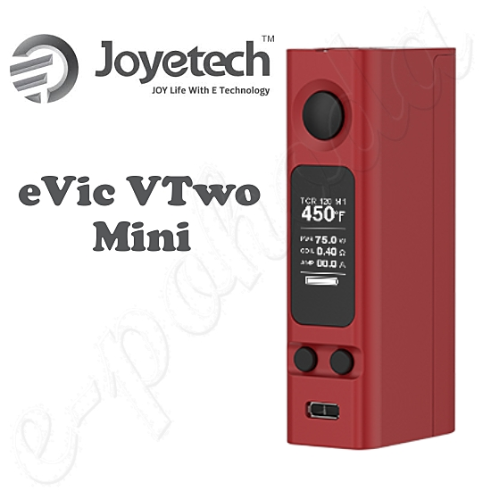 Joyetech eVic VTwo Mini 75W Easy Kit - Burgundy