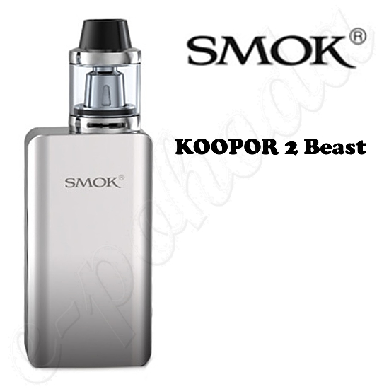 Smok Koopor 2 Beast TC 80W Grip Full Kit - Silver