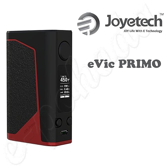 Joyetech eVic Primo Grip Easy Kit - Black-Red