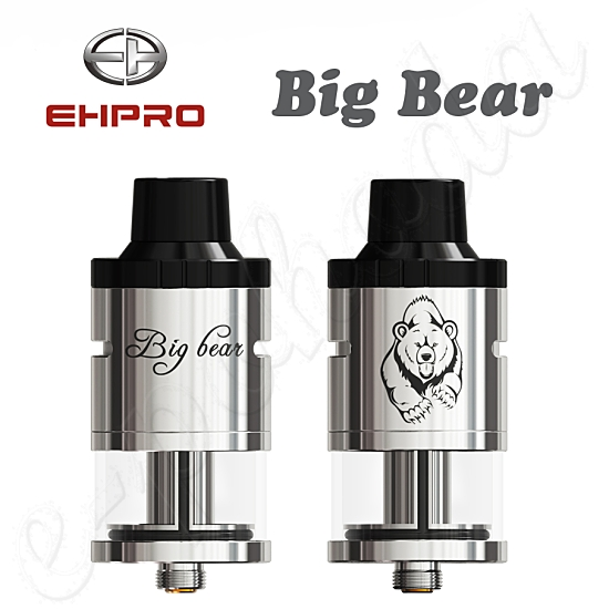 Ehpro Big Bear RDTA Atomizer - Silver