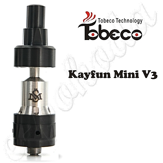 Atomizer Kayfun Mini V3 by Tobeco RTA - black