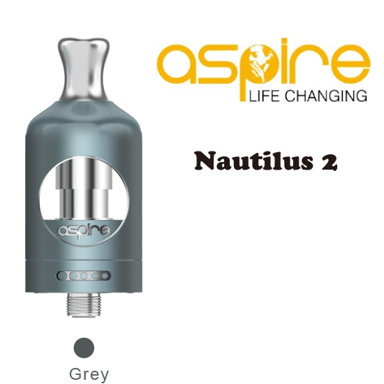 Aspire Nautilus 2 Tank Atomizer 2ml - grey