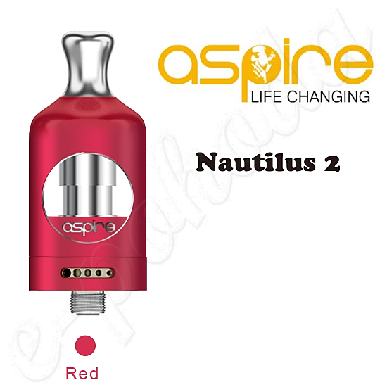 Aspire Nautilus 2 Tank Atomizer 2ml - red