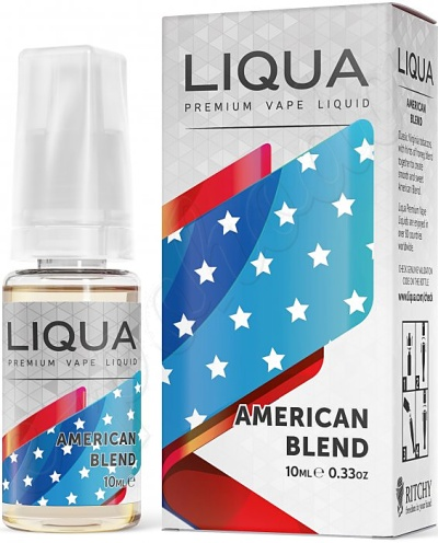 výprodej liquid LIQUA Elements American Blend 10ml-0mg