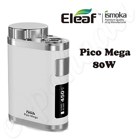 Eleaf iStick Pico Mega TC 80W Easy Kit - White