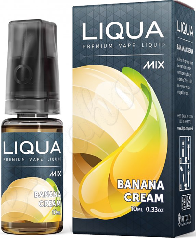 výprodej liquid LIQUA Mix Banana Cream 10ml-0mg