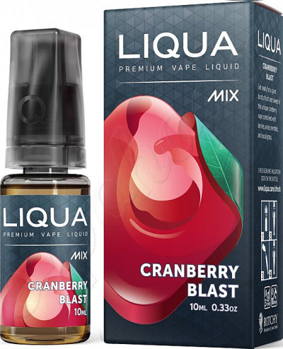 výprodej liquid LIQUA Mix Cranberry Blast 10ml-0mg