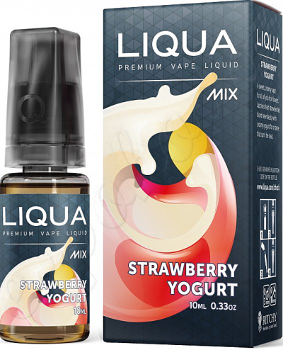 liquid LIQUA Mix Strawberry Yogurt 10ml-0mg