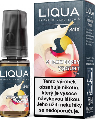 liquid LIQUA Mix Strawberry Yogurt 10ml-3mg