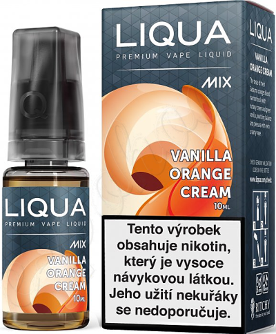 výprodej liquid LIQUA Mix Vanilla Orange Cream 10ml-3mg