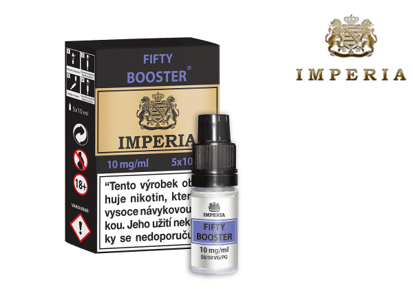 IMPERIA FIFTY BOOSTER (50VG/50PG) 10mg/ml 5x10ml