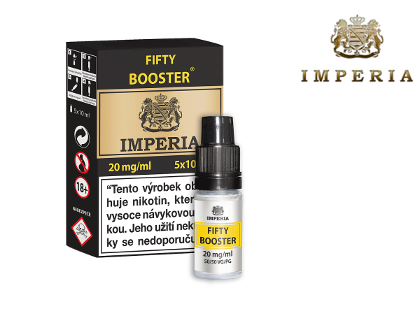 IMPERIA FIFTY BOOSTER (50VG/50PG) 20mg/ml 5x10ml