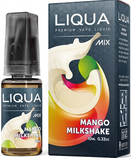 liquid LIQUA Mix Mango Milkshake 10ml-0mg