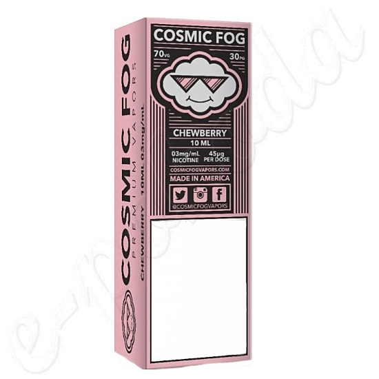 liquid COSMIC FOG - Chewberry 10ml-0mg