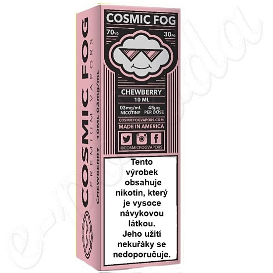 liquid COSMIC FOG - Chewberry 10ml-3mg